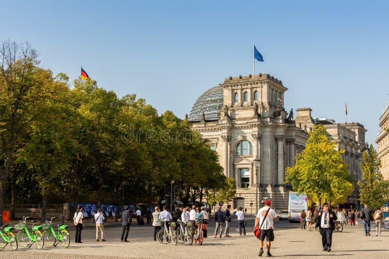 Le Bundestag ? Berlin photographie stock libre de droits