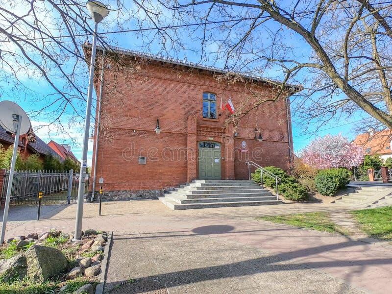 Le bureau du Procureur Général dans Pruszcz Gdanski photographie stock