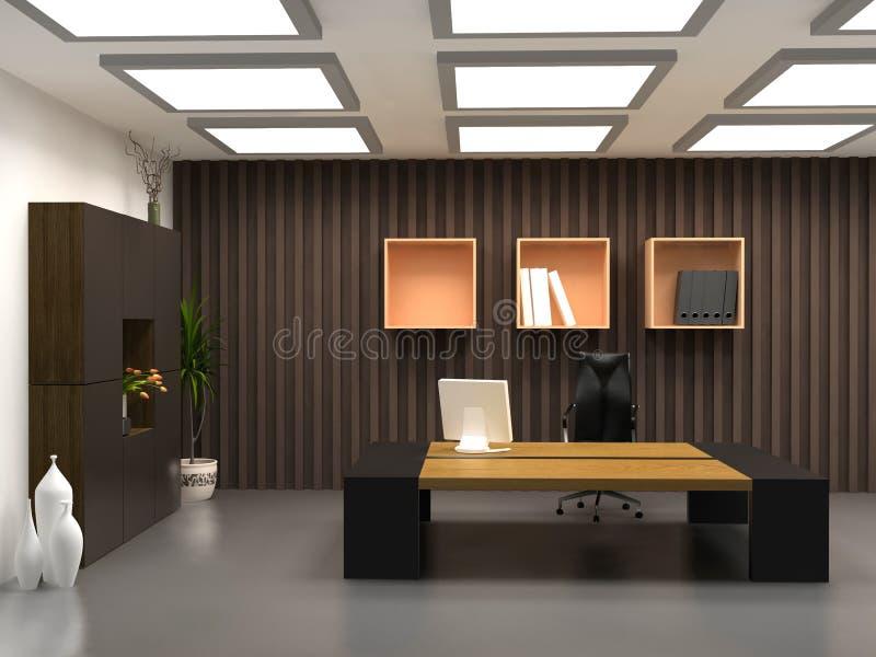Le bureau moderne image stock. Image du meubles, travail - 2263387