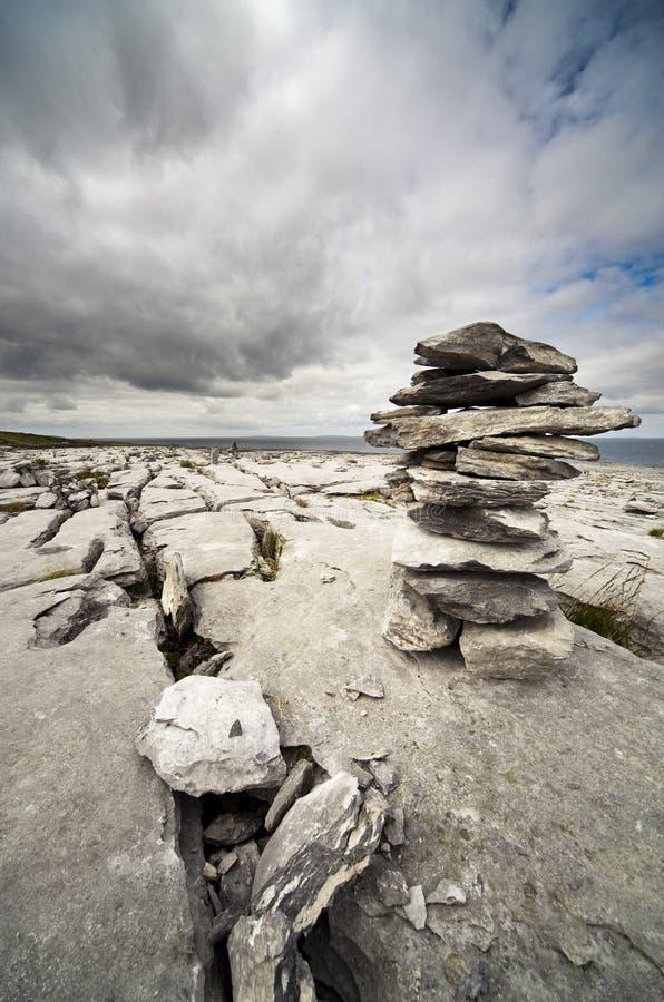 Le Burren irlandais image libre de droits