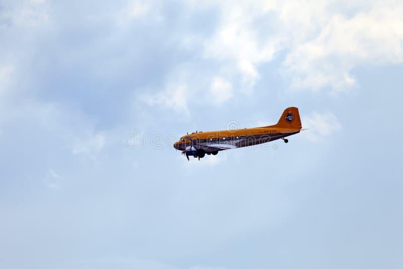 Le C-47 Skytrain ou Dakota de Douglas photo libre de droits
