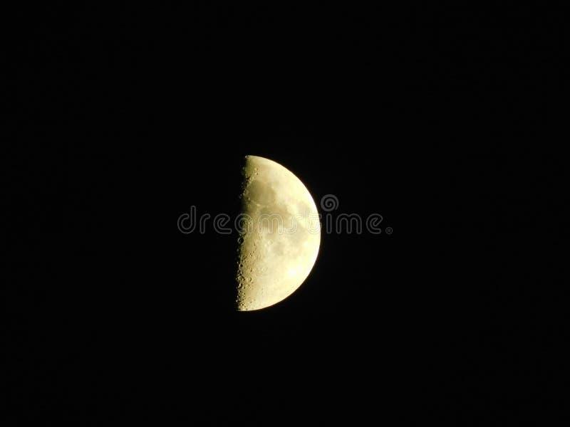 Le côté en noir de la lune photos stock