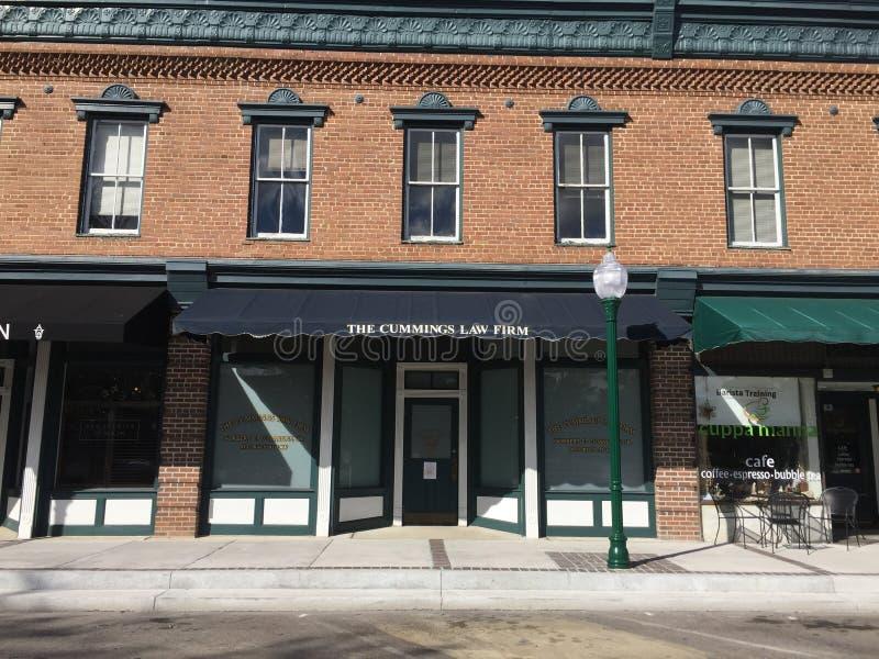 Le cabinet d'avocats de Cummings dans Summerville, Sc photos stock
