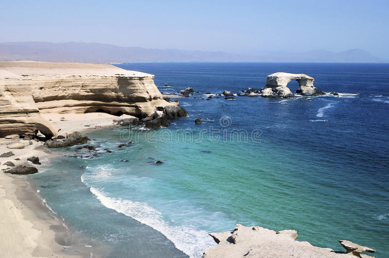 Le cache d'Antofagasta, Antofagasta du Chili image stock