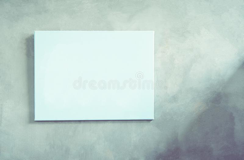 Le cadre de tableau sur les murs de la maison sont faits de ciment images libres de droits