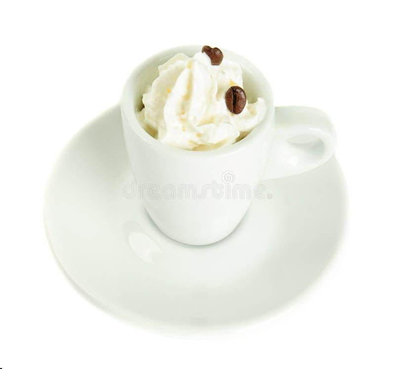 Le café Vienne a isolé photos stock