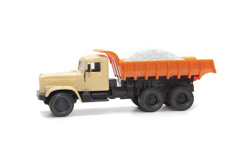 Le camion lourd de jouet images stock