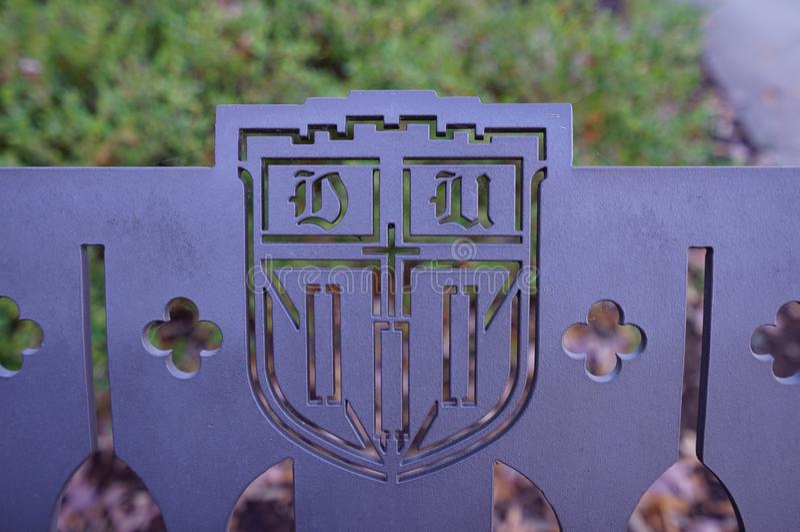 Le campus de Duke University à Durham, la Caroline du Nord photographie stock