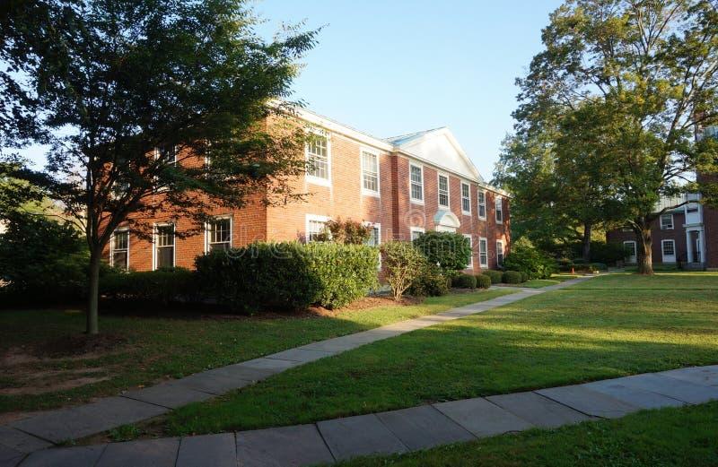 Le campus de l'institut pour des études supérieures dans Princeton, NJ images libres de droits