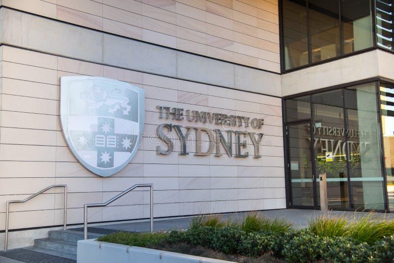 Le campus principal de l'université de Sydney, c'est la première université de l'Australie et est considéré en tant qu'une du mon photo stock