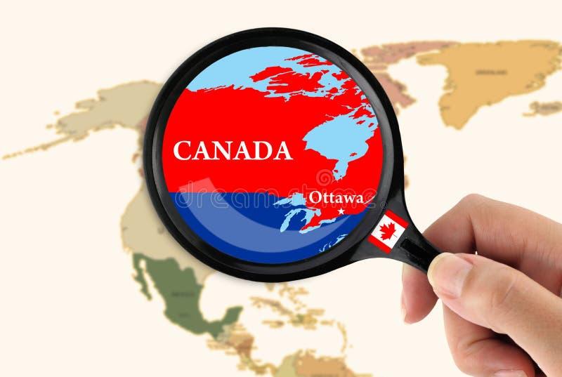 Le Canada illustration de vecteur