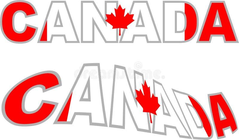 Le Canada illustration libre de droits
