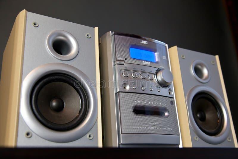 Le CANADA, ONTARIO le 14 avril 2019 - Mini Stereo System composant compact audio JVC photo libre de droits