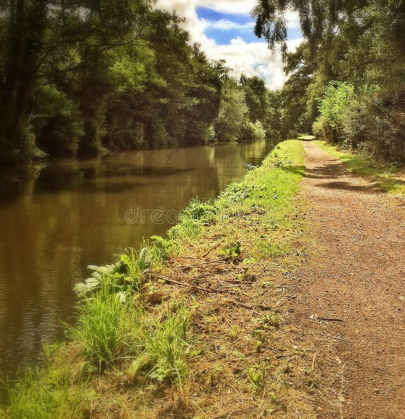 Le canal photo stock