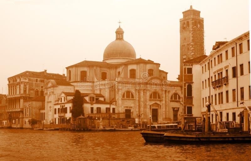Le canal grand à Venise photos stock