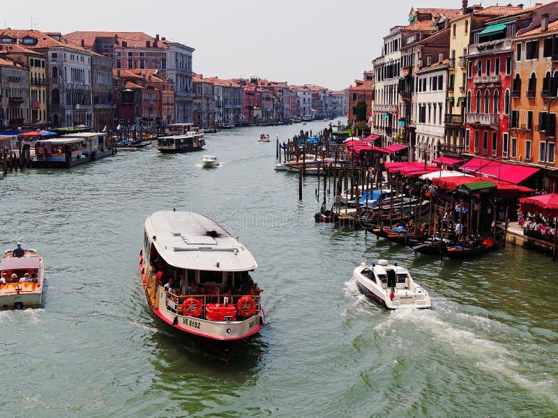 Le canal grand, Venise, Italie photographie stock libre de droits