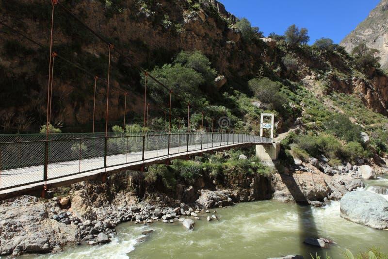 Le canyon de Colca photographie stock libre de droits