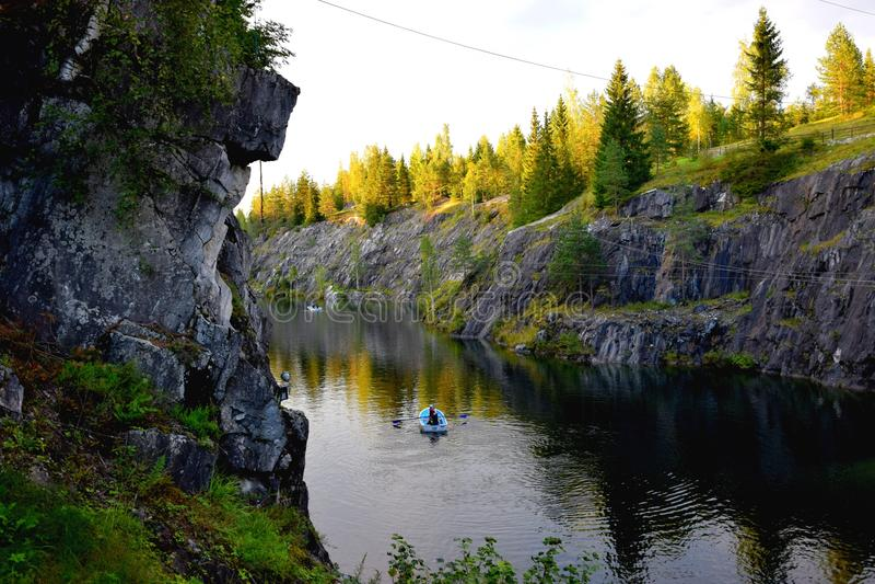 Le canyon de marbre photo libre de droits