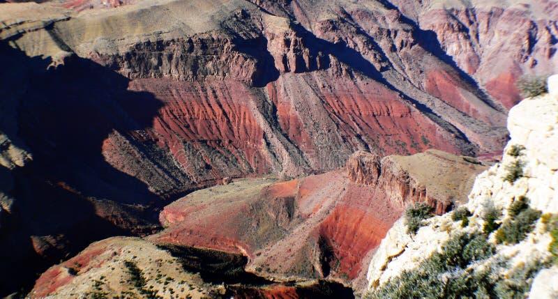 Le canyon grand images libres de droits