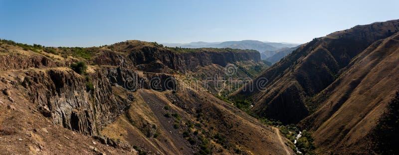 Le canyon pittoresque d'Azat River photos stock