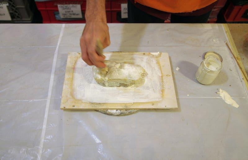 Le caoutchouc liquide de latex image stock