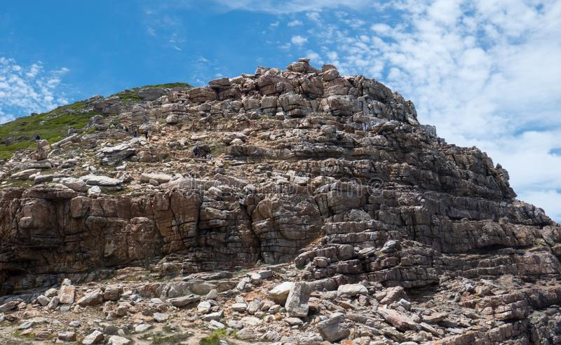 Le Cap de Bonne-Espérance Afrique du Sud image libre de droits