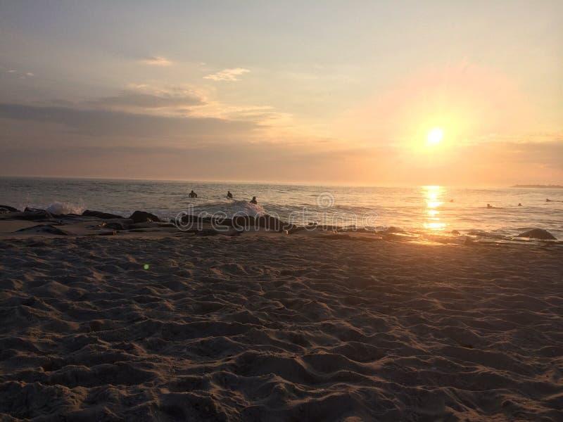 le cap peut coucher du soleil image libre de droits