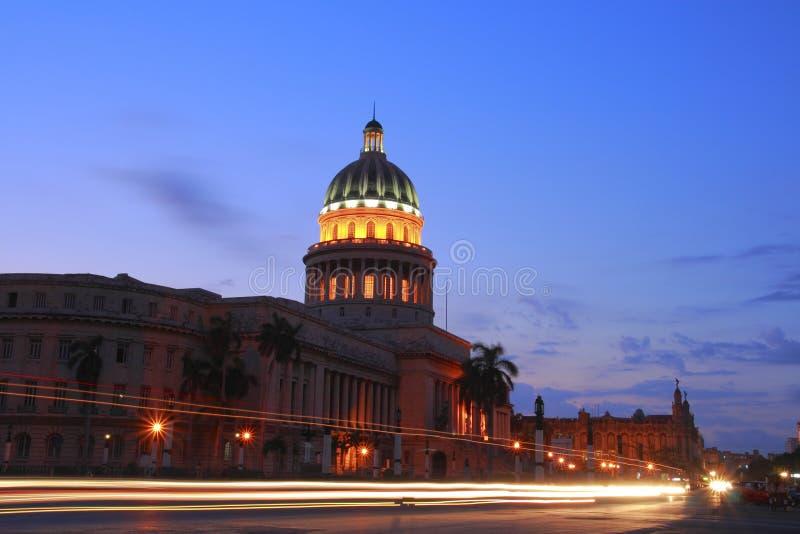 Le capitol à La Havane photos libres de droits