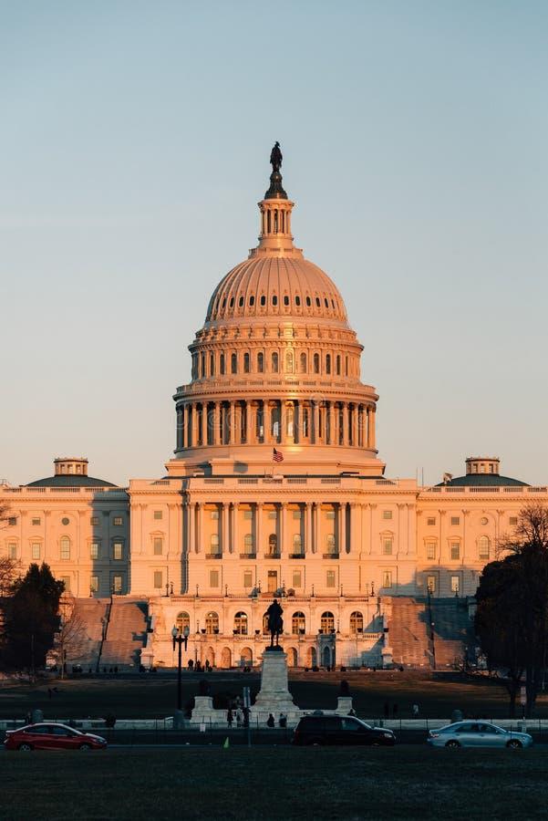 Le capitol des Etats-Unis, ? Washington, C.C images libres de droits