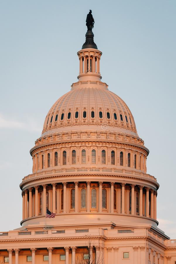 Le capitol des Etats-Unis, ? Washington, C.C photo stock