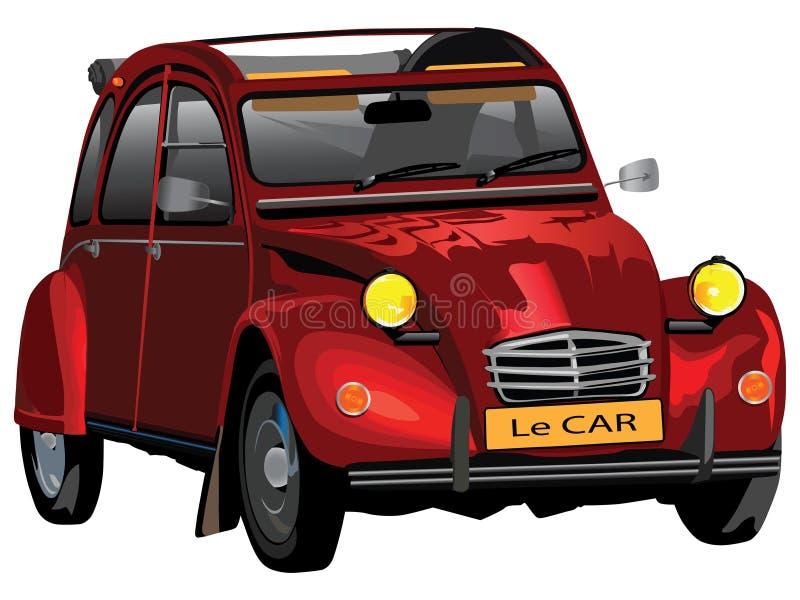 Le car illustrazione vettoriale