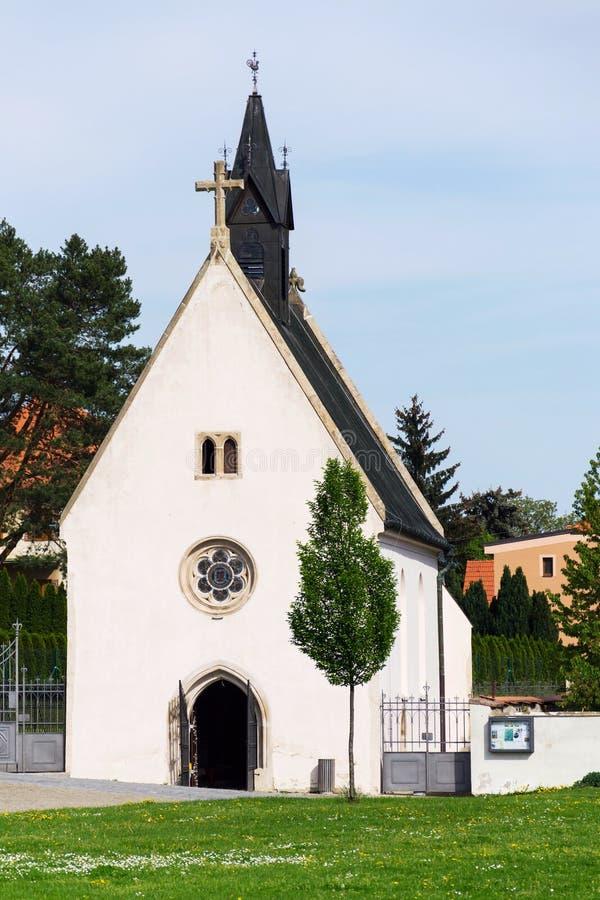 Le carreau de Kostel Zjeveni a appelé Cyrilka près de la basilique de Velehrad, République Tchèque photos libres de droits