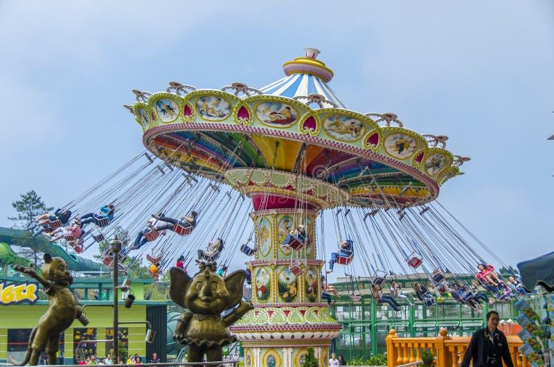 Le carrousel photo libre de droits