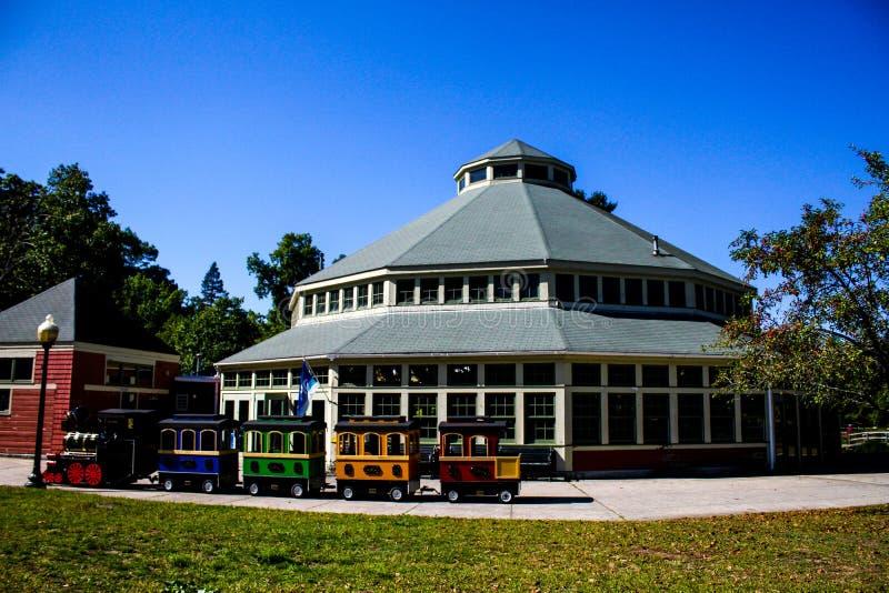 Le carrousel, Roger Williams Park image stock