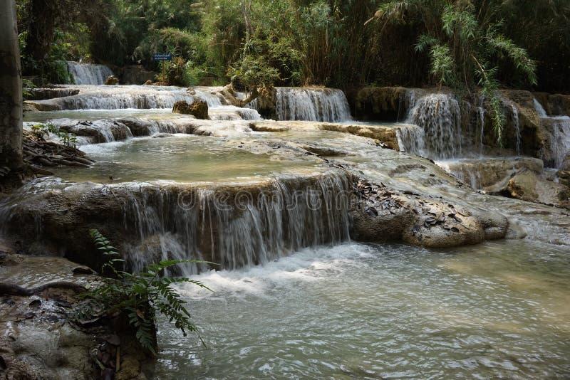 Le cascate di Kuangsi immagine stock libera da diritti