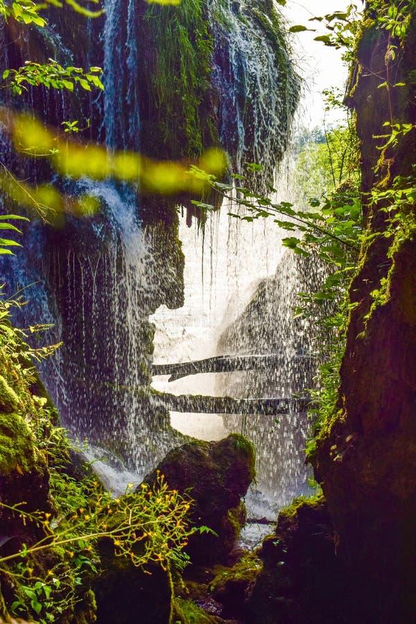 Le cascate di Slunj immagini stock