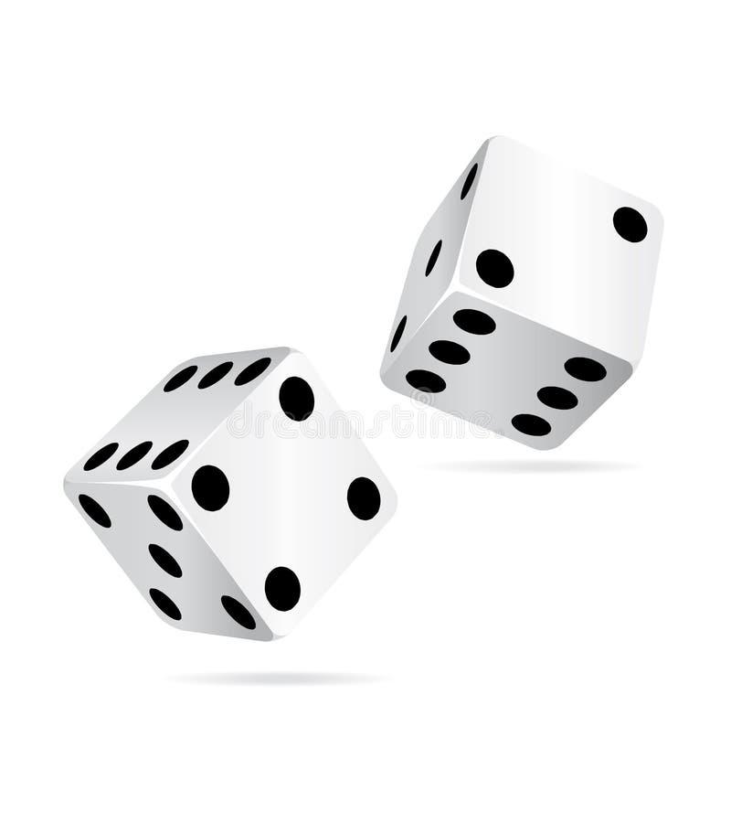 Le casino découpe le graphisme. illustration de vecteur