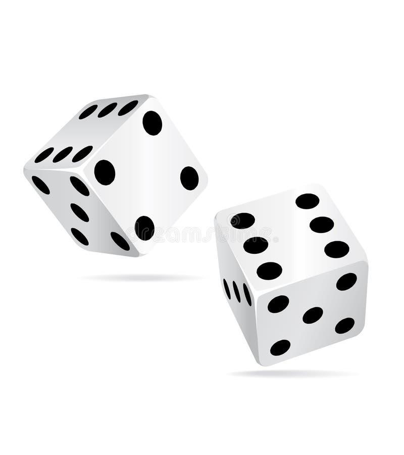 Le casino découpe le ll de graphisme. illustration de vecteur
