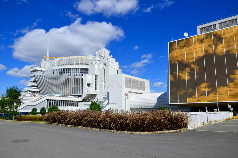Le casino De Montréal images stock