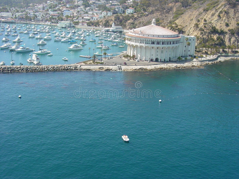 Le Casino En Catalina Images stock