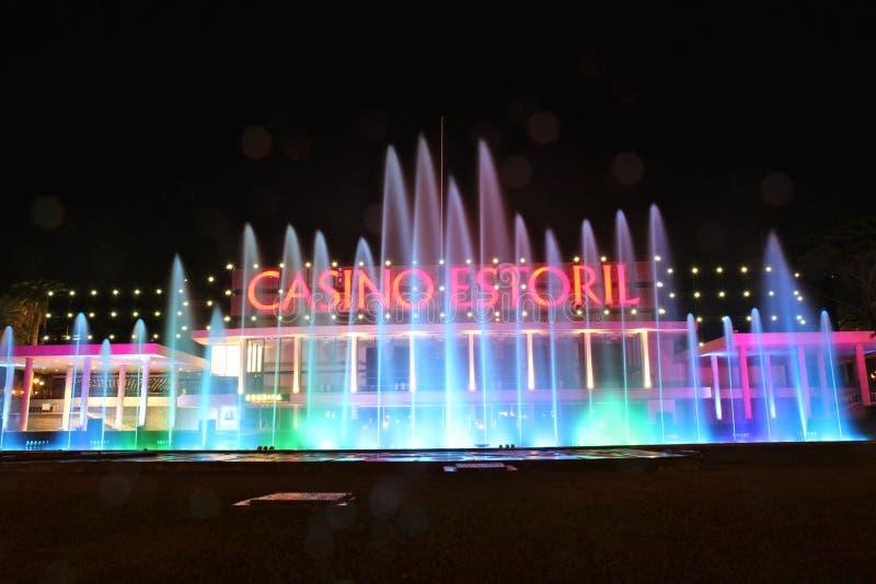 Le casino font Estoril photos libres de droits