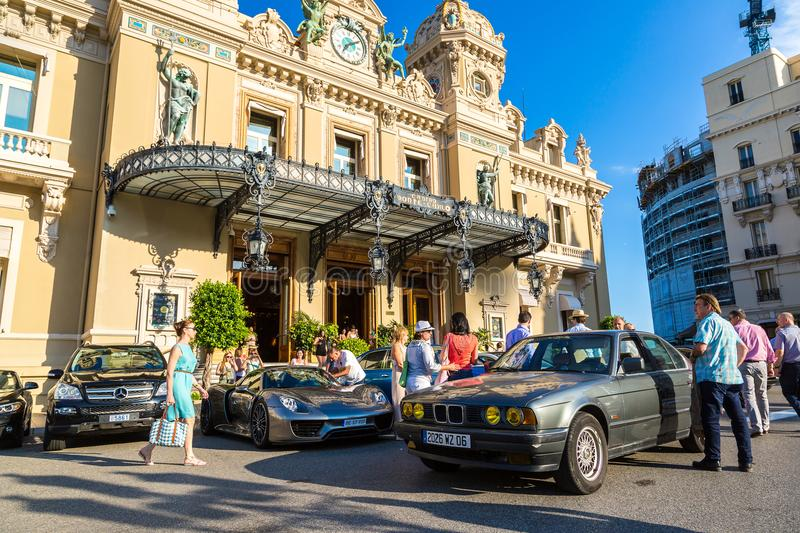Le casino grand au Monaco photo stock