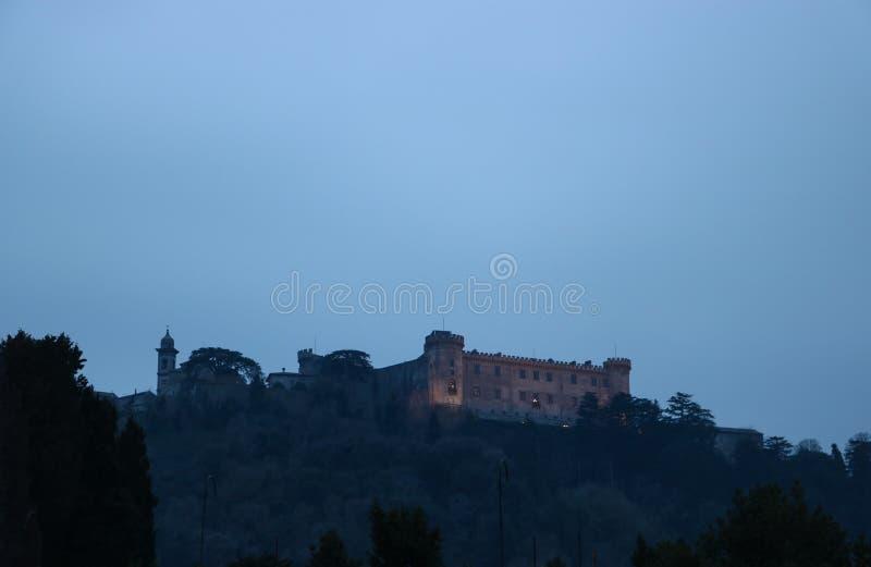 Le Castello célèbre Orsini-Odescalchi photos libres de droits