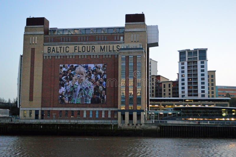 Le centre baltique Gateshead Tyneside images stock