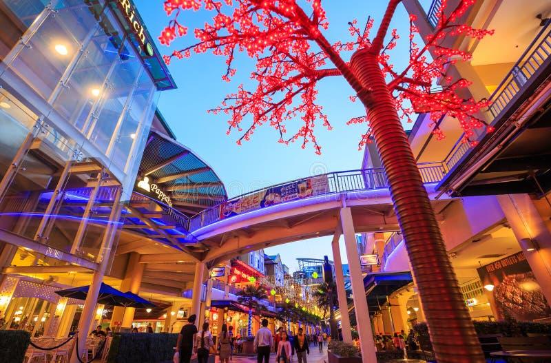 Le centre commercial de courbe Damansara photos libres de droits