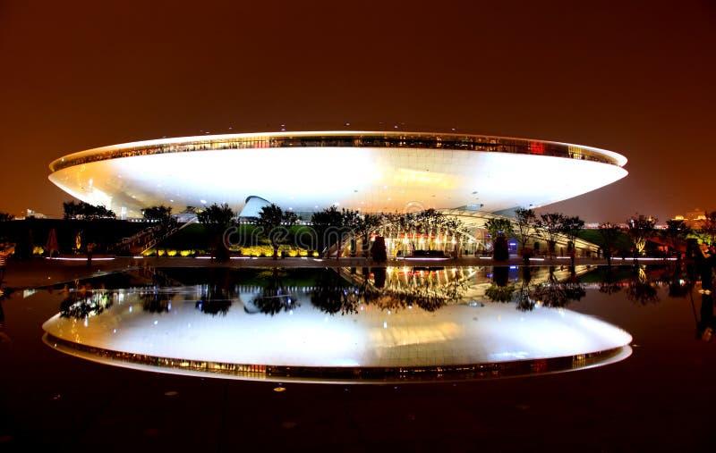 Le centre de culture à l'expo du monde à Changhaï photos stock