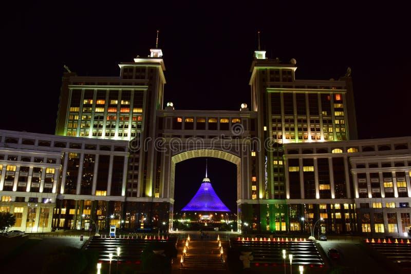 Le centre de divertissement de KHAN SHATYR à Astana/Kazakhstan photos stock