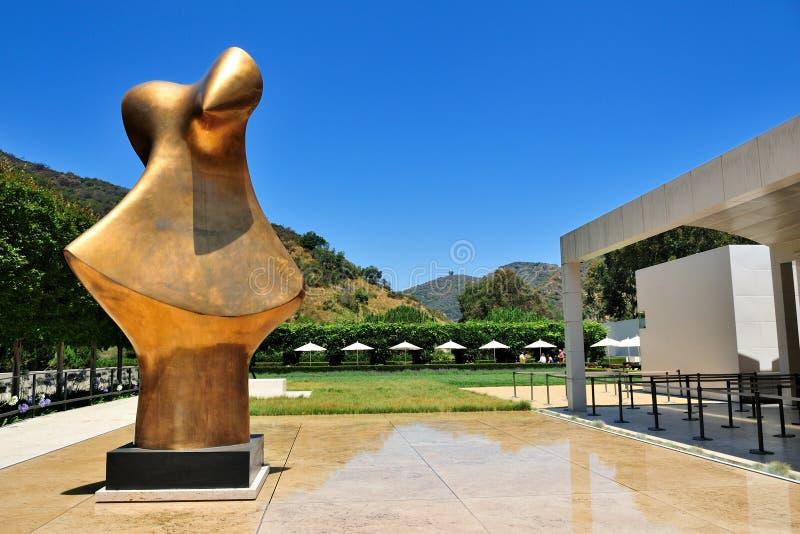 Le centre de Getty à Los Angeles, Calif photo libre de droits
