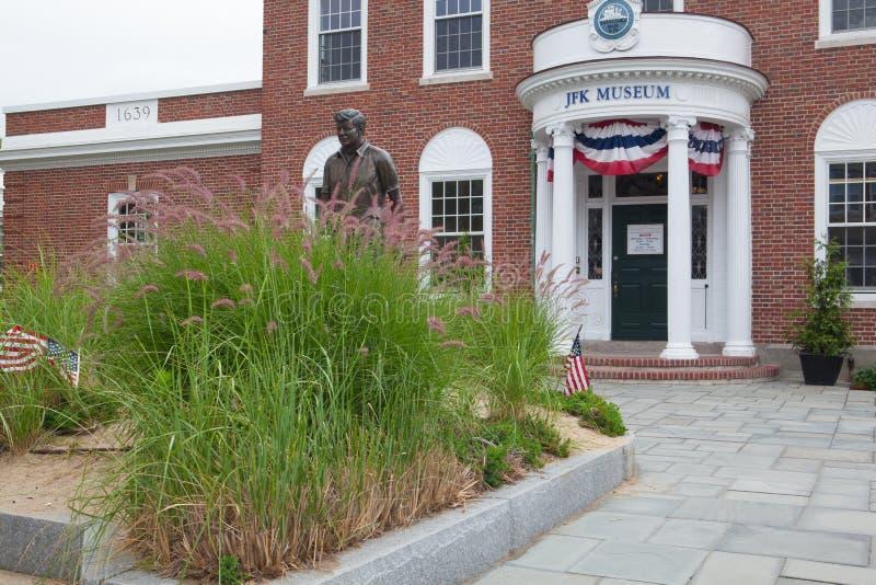 Le centre de John F Kennedy Hyannis Museum, Etats-Unis photos libres de droits