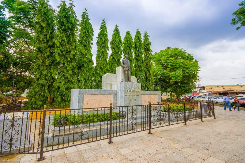 Le centre de la ville, Santiago est l'une des plus grandes villes photo stock